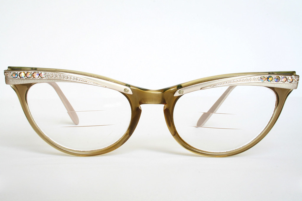 The World\'s Best Photos by Vintage Cat Eye Glasses - Flickr Hive Mind