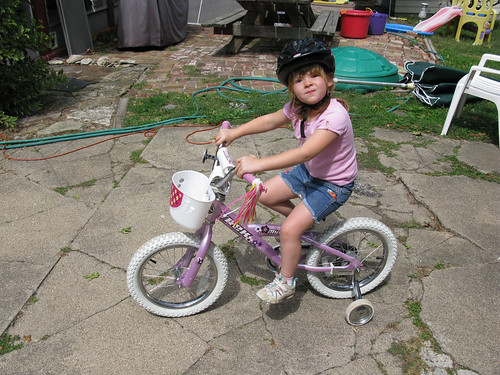 Madelyn's new bike