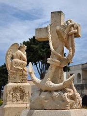 The Eternal Watch (bazylek100) Tags: monument cemetery memorial cross malta worldwari anchor naval greatwar cmentarz royalnavy krzyż kotwica kalkara