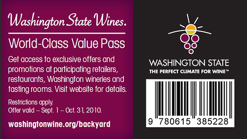 Washington State Wine Pass