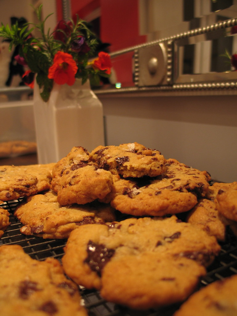 *Smoked sea salt chocolate chip cookies*