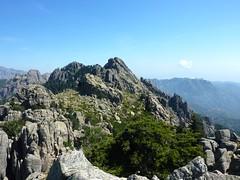 Sommet de Punta Furcata : vue vers Punta di Quercitella