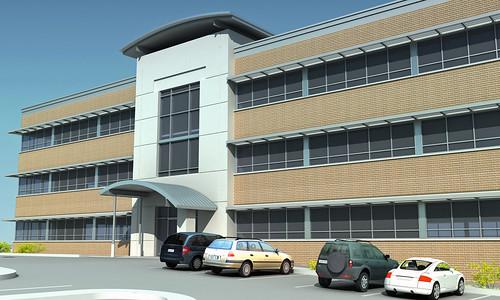 Sarajlijina Apartment Building - 3D 01