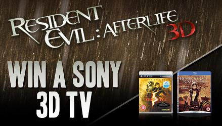 Win a Sony 3D TV