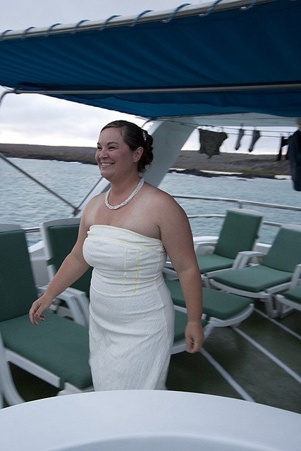 wedding on the Daphne