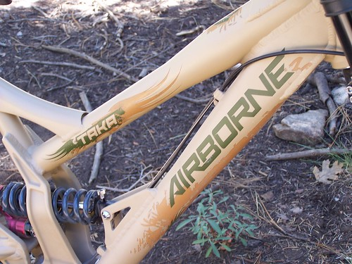 A stout stiff frame with nice graphics.