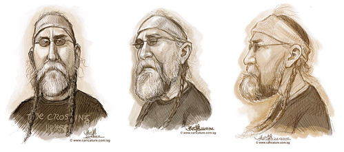 Schoolism Assignment 4 - sketches of Tony