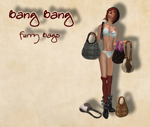 Bang Bang - Furry Bags