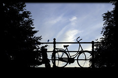 Amsterdam (Zopidis Lefteris) Tags: bridge sky netherlands amsterdam bike evening holidays europe tour ride allrightsreserved channels 2010 lefteris  zop    zopidis          photographerzopidislefteris  photographerzopidislefterisc c  allphotosarecopyrightedbyzopidislefteris  copyright