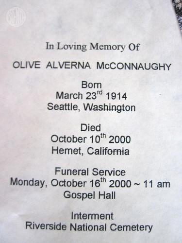 Olive Alverna McConnaughy