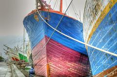 Sunda Kelapa, Jakarta (3) (Tempo Dulu) Tags: colour indonesia boats jakarta hdr sundakelapa