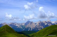 Il Catinaccio (Dani_1966) Tags: mountain alps nature landscape landscapes italia alba natura alpi montagna trentino dolomites dolomiti monti canazei catinaccio trentinoaltoadige bellitalia
