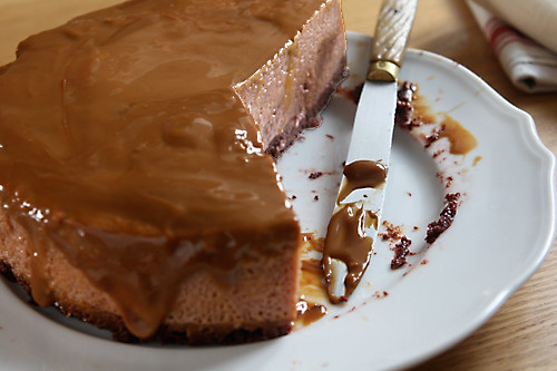 Chocolate-Dulce de Leche Flan | David Lebovitz