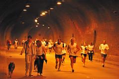 Ah, mira quien corre tambin!!! (juannypg) Tags: argentina calle ciudad perro rosario tunel urbanas ciclistas maratonistas arturoillia tunelmania