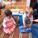 Aliya and Elizabeth playing nicely