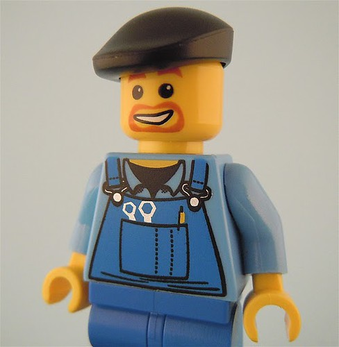 LEGO Beret as Flat Cap