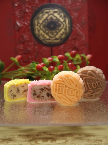 Hilton Cheese Mooncake