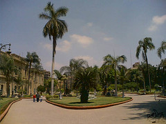 Abdeen Palace-3 (divingoff) Tags: sky clouds palms egypt 2006 palace cairo      abdeen