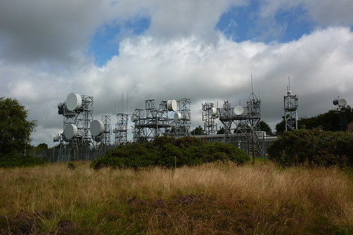 Microwave Radio Station on top of the hill