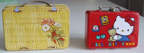 Tin Suitcases
