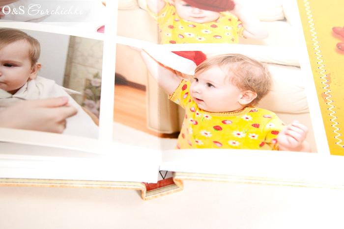 Фотокнига Машенька 1 годик
