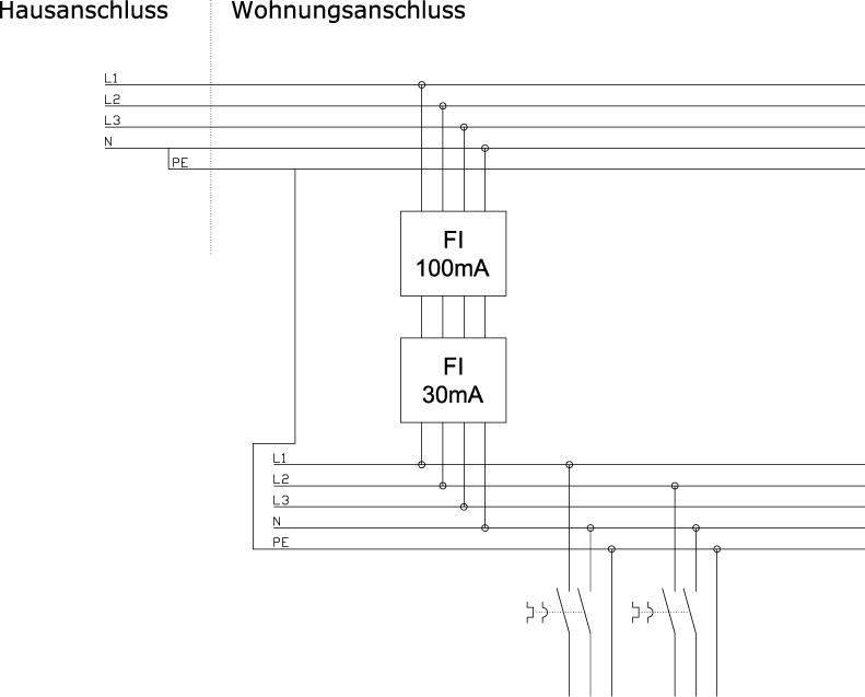 Beste Schaltplan Mit Zwei Schaltern Zeitgenössisch - Elektrische ...