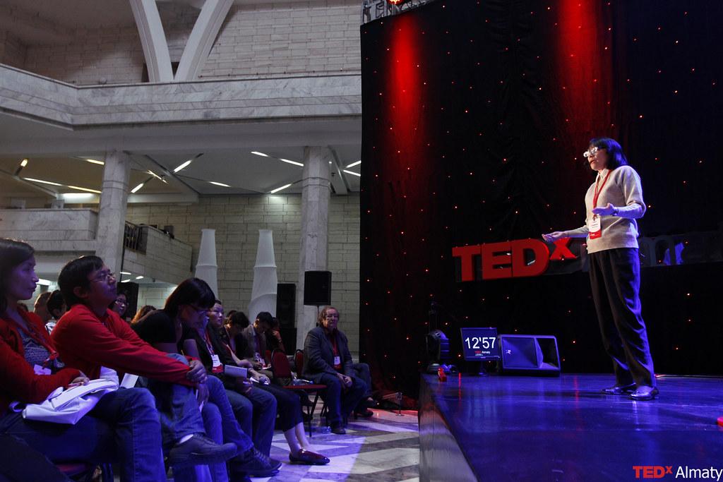 TEDxAlmaty Альмира Наурзбаева