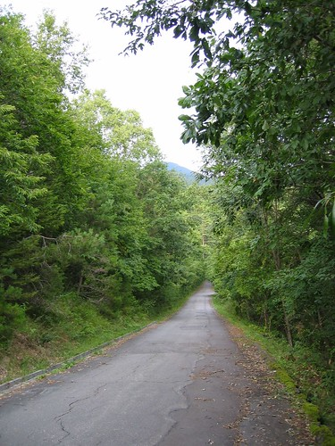 初秋の別荘地と縞枯山 07.9.13 by Poran111