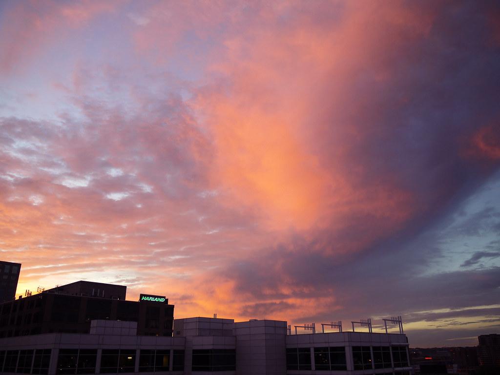 Parker Flats clouds