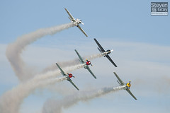 Aerostars Team - Yakovlev Yak-50 - Duxford - 100905 - Steven Gray - IMG_7927