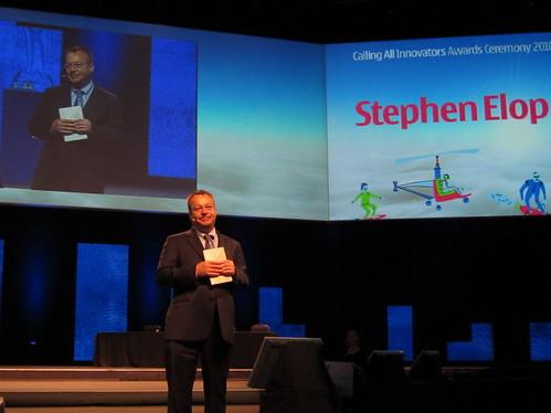 諾基亞新任執行長Stephen Elop出席開發商大會