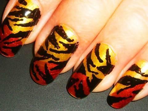 nails tiger