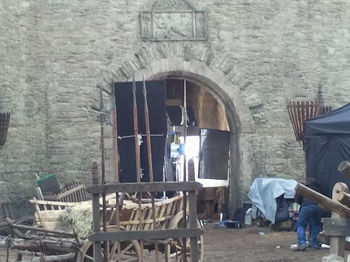 Isaac's scene