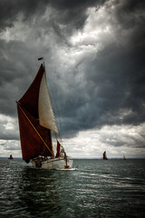 sailing against the elements (stocks photography) Tags: sea water thames boats boat sails estuary stocks sail whitstable barge faversham hernebay reculver stocksphotography swalesmackandbargematch2010