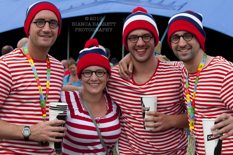 Where's Wally - Festival Goers