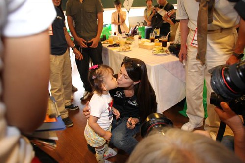 A Danica kiss