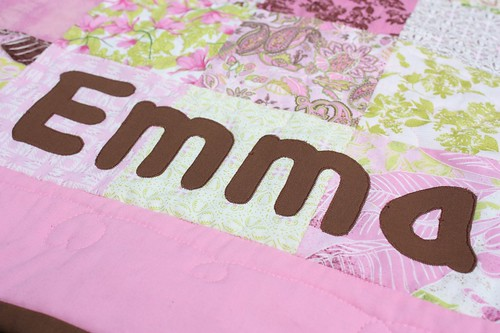 Emma's quilt-appliqe