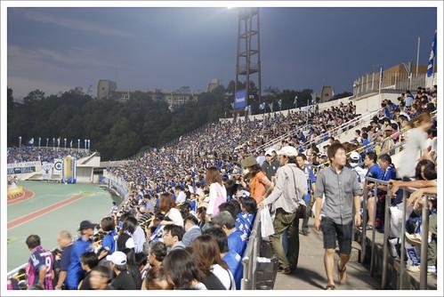 ガンバ大阪スタンド@ガンバ大阪 VS セレッソ大阪