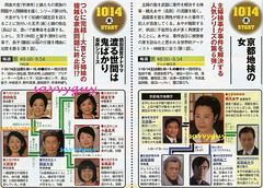 1014 朝日 京都地検の女 第6シリーズ 1014 TBS 渡る世間は鬼ばかり 第10シリーズ