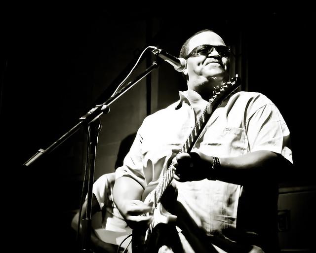 hombre de blues