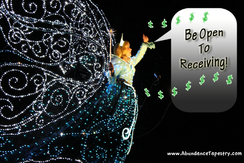 Law of Abundance: Be Open to Receiving
