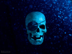 It Be Pirate Day! (jciv) Tags: desktop blue wallpaper halloween water dead skull scary underwater shadows ghost dramatic haunted creepy spooky pirate bones scare talklikeapirateday ahoy haunt pirata pirateskull pirateday itlapd file:name=dsc06244