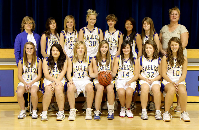 Junior Girls Basketball 2010/11 Team Picture
