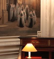 Sisters of Mercy ~ Salm Palace ~ Paris  ~ MjYj (MjYj) Tags: world city black france beauty sisters contrast secret femme palace bleu amour eden reflets mercy bene salm encounters ordre gesserit img9271 mjyj mjyj