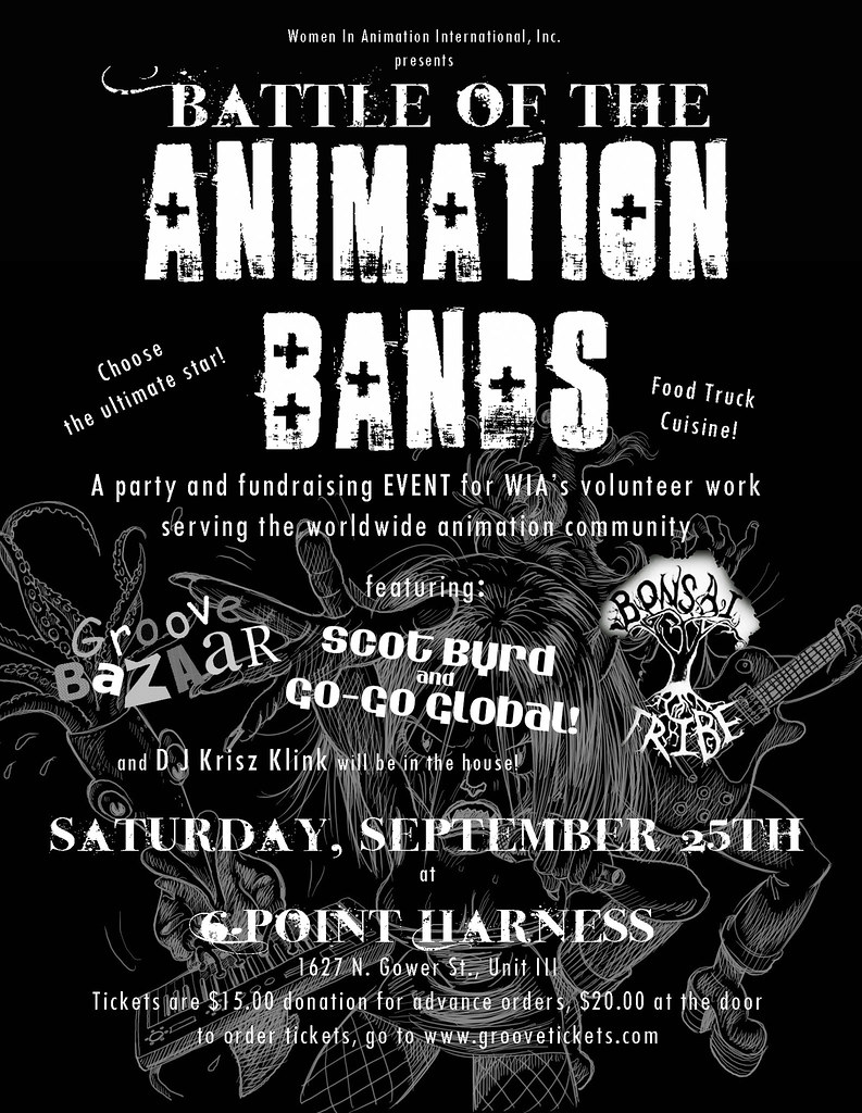 Battle of the Animation Bands