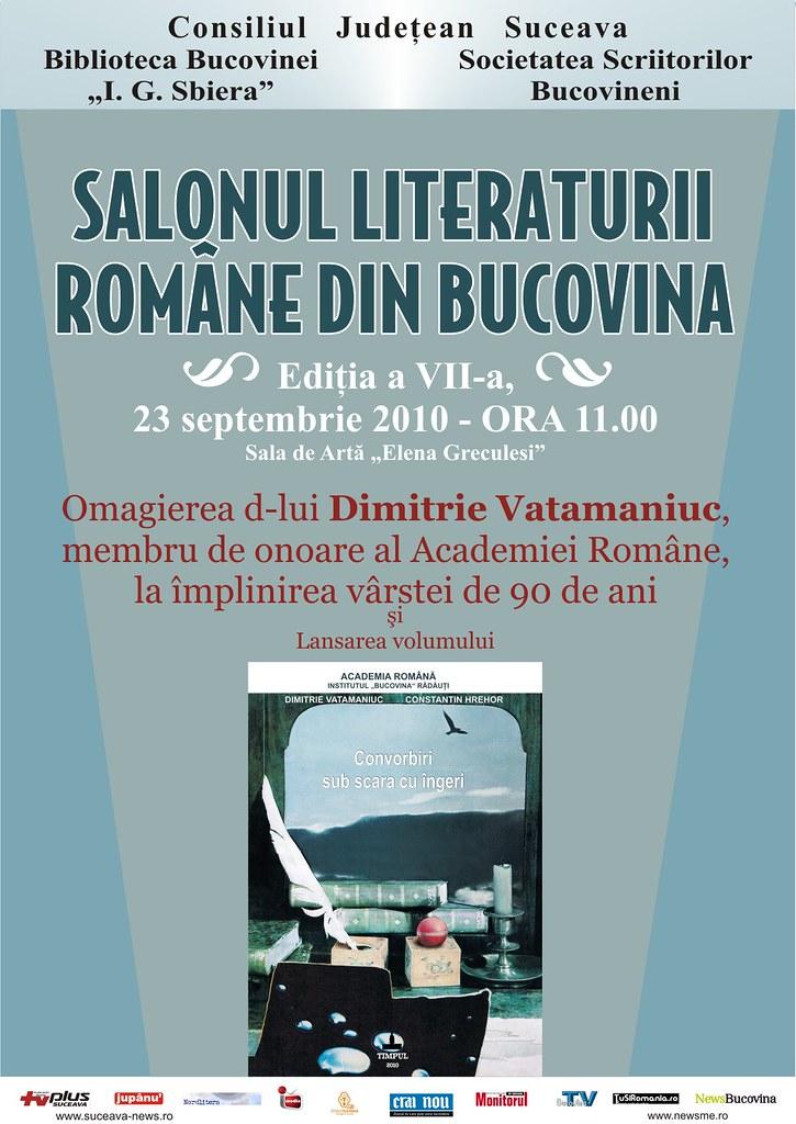 Salonul Literaturii Române din Bucovina, ediţia a VII-a