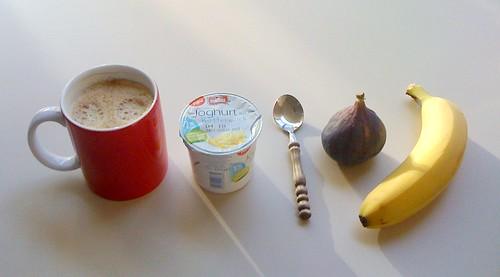 Buttermilch-Joghurt, Feige & Banane