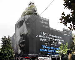Banco Herrero lona publicitaria
