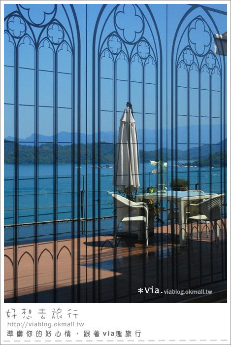 【南投】欣賞日月潭最美角度的餐廳~雲品酒店雲月舫26