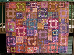 I didn't make this quilt!  My mom did.
